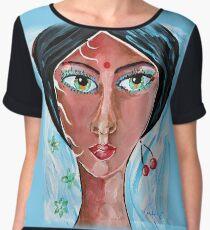 Timeless Dreamer - Woman Art by Valentina Miletic Chiffon Top
