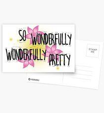 Wunderbar schön Postkarten