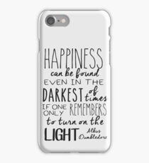 Turn on the Light iPhone Case/Skin