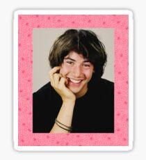 Floral Keanu Sticker