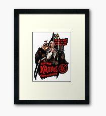 Captain Kronos: Vampire Hunter Framed Print