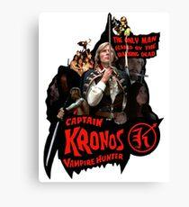 Captain Kronos: Vampire Hunter Canvas Print