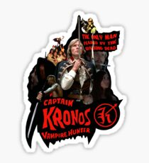 Captain Kronos: Vampire Hunter Sticker