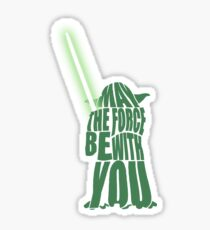 Yoda - Star Wars Sticker