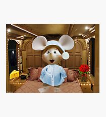 *•.¸♥♥¸.•*MY FAVORITE CHILDHOOD MOUSE TOPO GIGIO PICTURE,PILLOW AND OR TOTE BAG *•.¸♥♥¸.•* Photographic Print