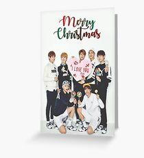 BTS Weihnachtskarte Grußkarte