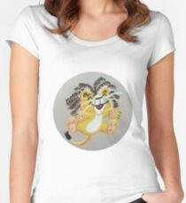 Cubby the Lion Fitted Scoop T-Shirt