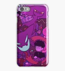 Mob and Ghost types iPhone Case/Skin