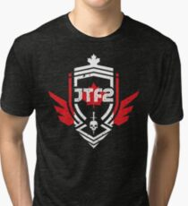 JTF2 - Canadian Skin / Gritty Tri-blend T-Shirt