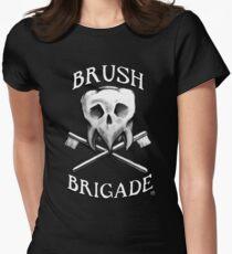 Brush Brigade Womens Fitted T-Shirt