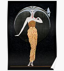 "Art Deco Design by Erte ""Day"" Poster"