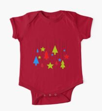Hanging Christmas One Piece - Short Sleeve