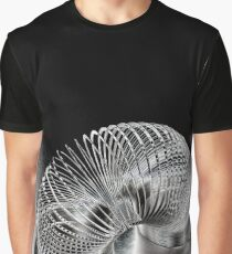 A Metal Coil Makes a Fun Toy Graphic T-Shirt