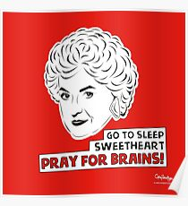 The Golden Girls - Dorothy Zbornak print Poster