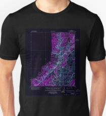 USGS TOPO Map Arkansas AR Powhatan 260259 1935 62500 Inverted Unisex T-Shirt