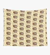 Crazy Hamster lady Wall Tapestry