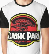 Jurassic Park Alien Parody Graphic T-Shirt
