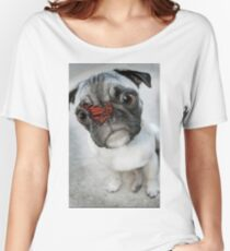 Funny dog Women's Relaxed Fit T-Shirt