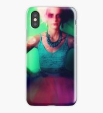 Drama queen in color iPhone Case