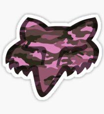 Fox Racing Pink Camo Sticker