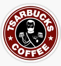 Tsarbucks! Sticker
