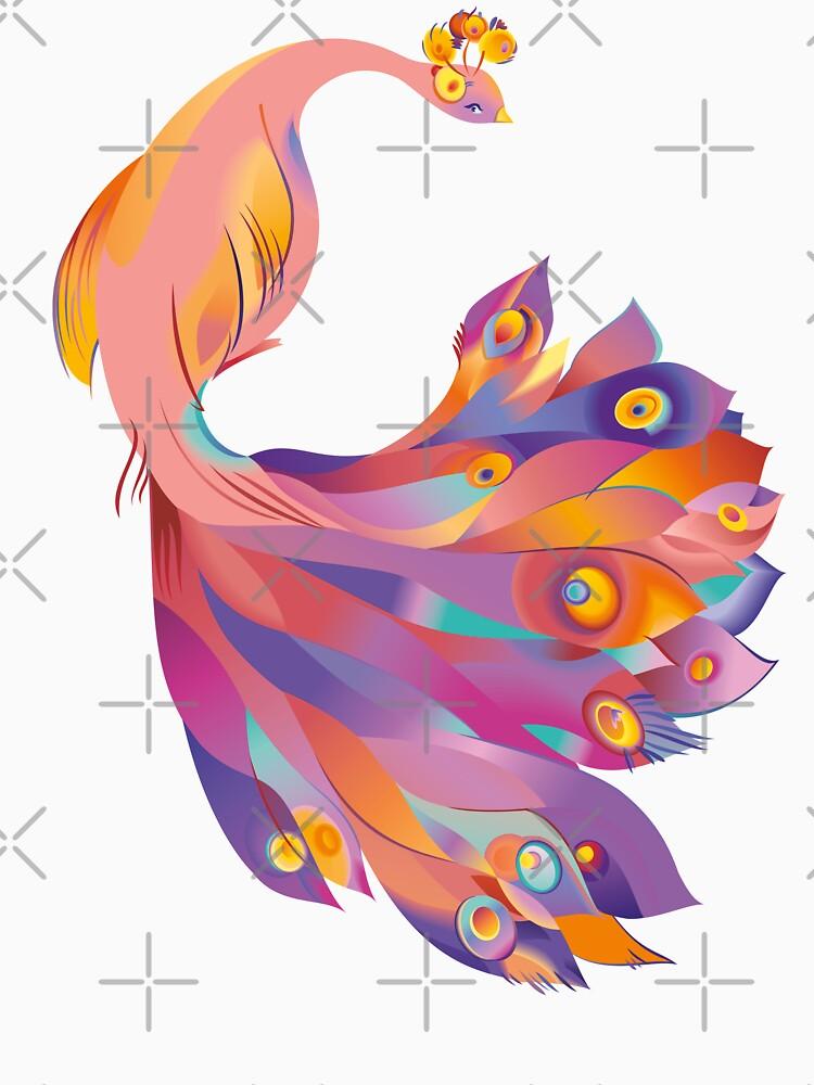 Pink Peacock by rusanovska