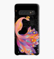 Pink Peacock Case/Skin for Samsung Galaxy