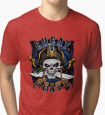 Cheat Death - Pirate Tri-blend T-Shirt