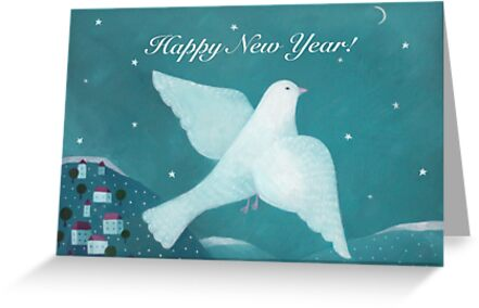 Happy New Year! by Oksana Tarasova