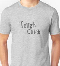 """Tough Chick"" typography T-Shirt"