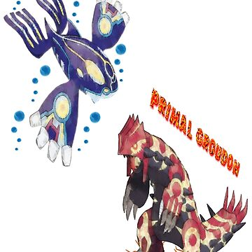 Primal Groudon & Primal Kyogre by PowerArtist