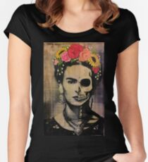 Frida  Women's Fitted Scoop T-Shirt