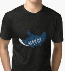 Sea Flap-Flap Tri-blend T-Shirt