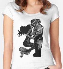 My Underwater Love Women's Fitted Scoop T-Shirt