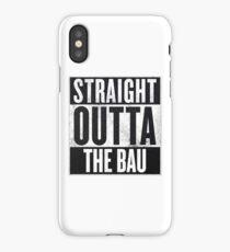 Straight Outta The BAU iPhone Case/Skin
