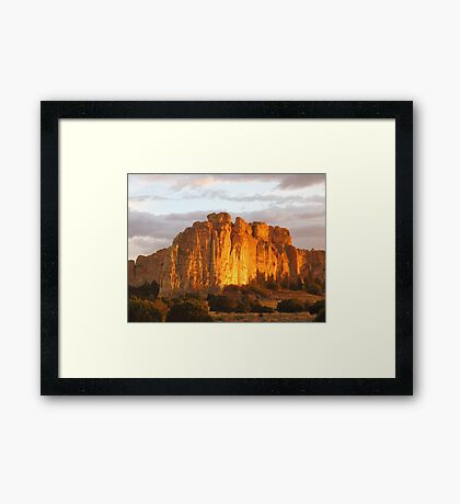 El Morro National Monument, NM Framed Print