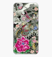 Samurai and Dragon iPhone Case