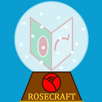 "RoseCraft ""Mask Emblem"" Snowglobe by RoseCraft"