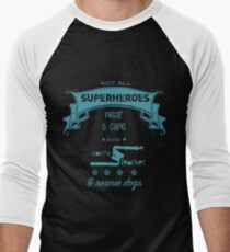 Superheroes Men's Baseball ¾ T-Shirt