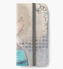 Faith, hope and love iPhone Wallet/Case/Skin