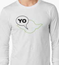 Star Wars Yoda Parody  Long Sleeve T-Shirt