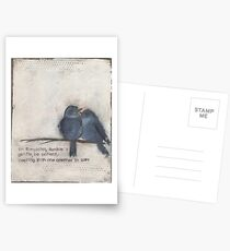 Humble and gentle  Postcards