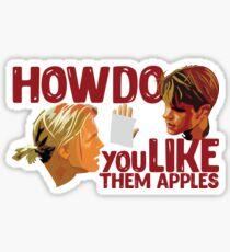 Good Will Hunting - Apple Sticker