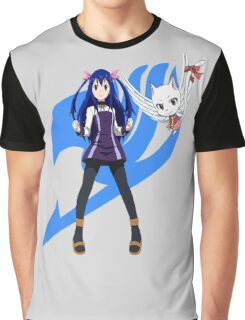 Wendy Marvell w/ Carla Graphic T-Shirt