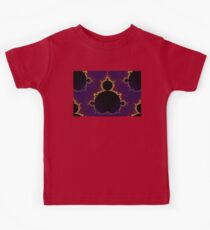 Fractal Mandelbrot Seamless Kids Tee