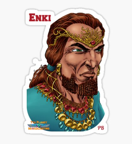 Enki  Sticker