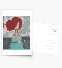 Trusting with her heart Postcards