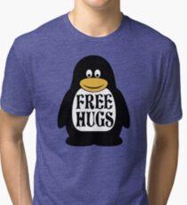 Hugs the Penguin Tri-blend T-Shirt
