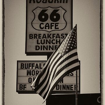 Roadkill Cafe Route 66 USA by DareImagesArt