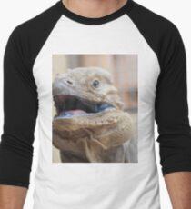 Lizard wird dich holen ... Baseballshirt mit 3/4-Arm